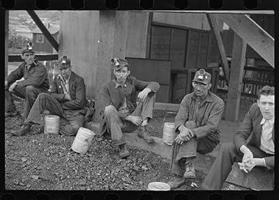 Photo: Kentucky coal miners,Jenkins,Kentucky