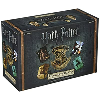 Harry Potter Deck-Building Game Expansion The Monster Box of Monsters USAopoly: Juguetes y juegos