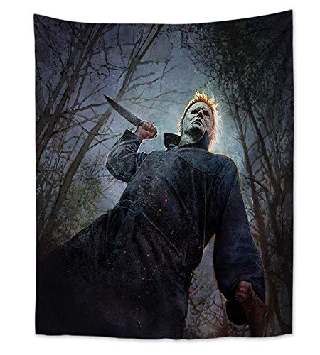 WholesaleSarong Horror Thriller Halloween Wall Art Hanging Tapestry