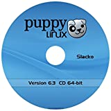 "Puppy Linux ""Slacko"" New Version 6.3.2 - 64-bit on CD"