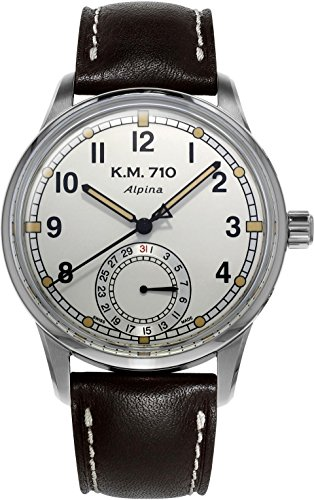 Alpina Geneve ALPINER HERITAGE MANUFACTURE KM-710 AL-710KMV4E6 Automatic Mens Watch Manufactury calibre