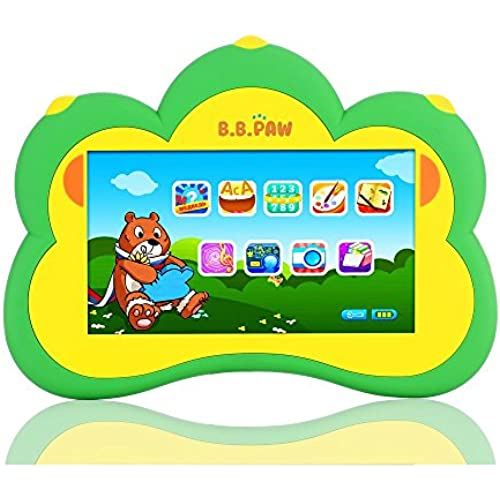 B.B. Paw Plus Kid' Learning Tablet for ages 3 to 6, Green Coupons