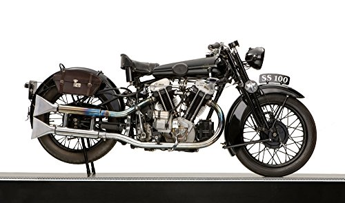 Posterazzi PPI170350LARGE 1931 Brough Superior SS100 JAP engine motorcycle Poster Print 24 x 40