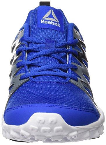 Reebok Bd5393, Zapatillas de Deporte Unisex Niños Azul (Awesome Blue /             Asteroid Dust /             Black /             White)