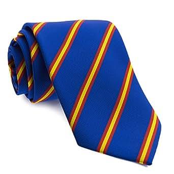 Cencibel Smart Casual Corbata Rayas Bandera de España (Azul)