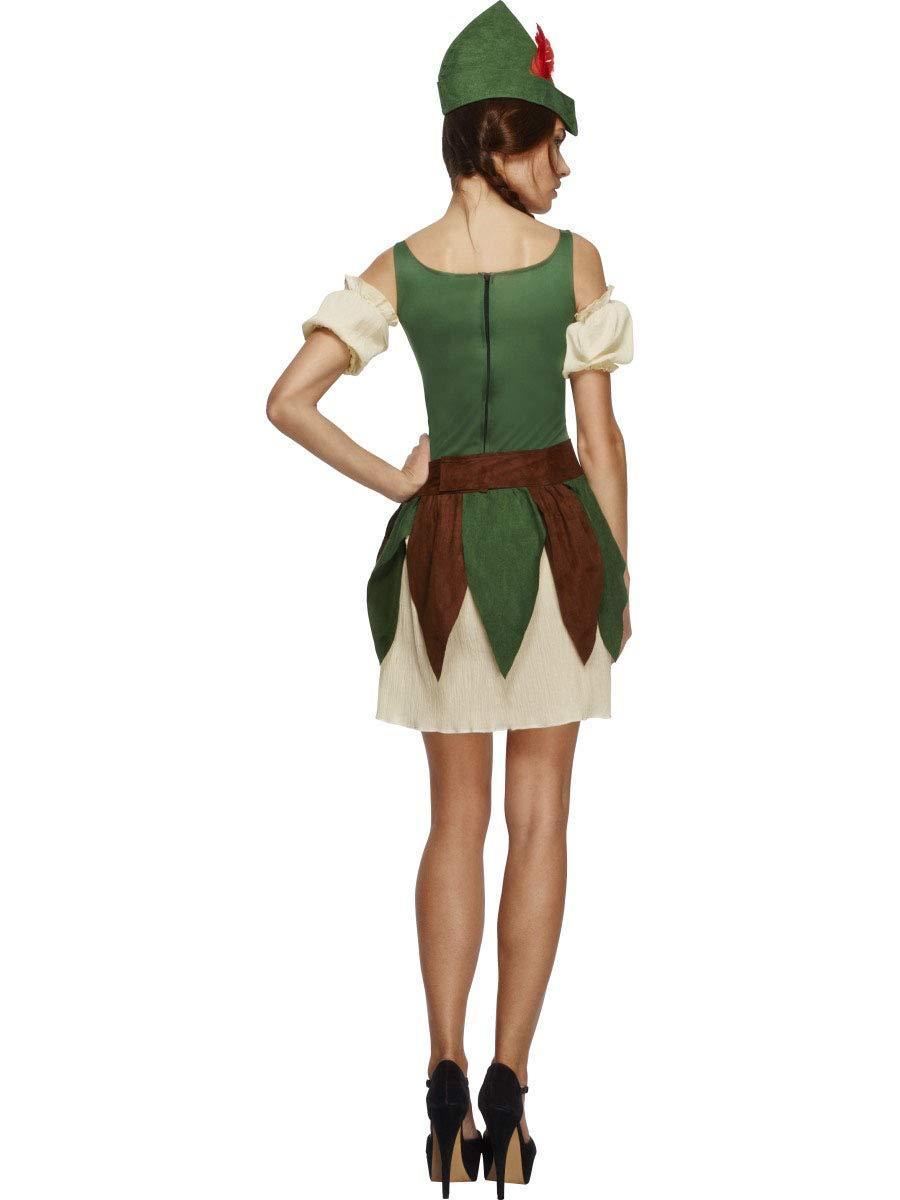 Smiffys Disfraz de ladrona del bosque: Amazon.es: Juguetes y juegos