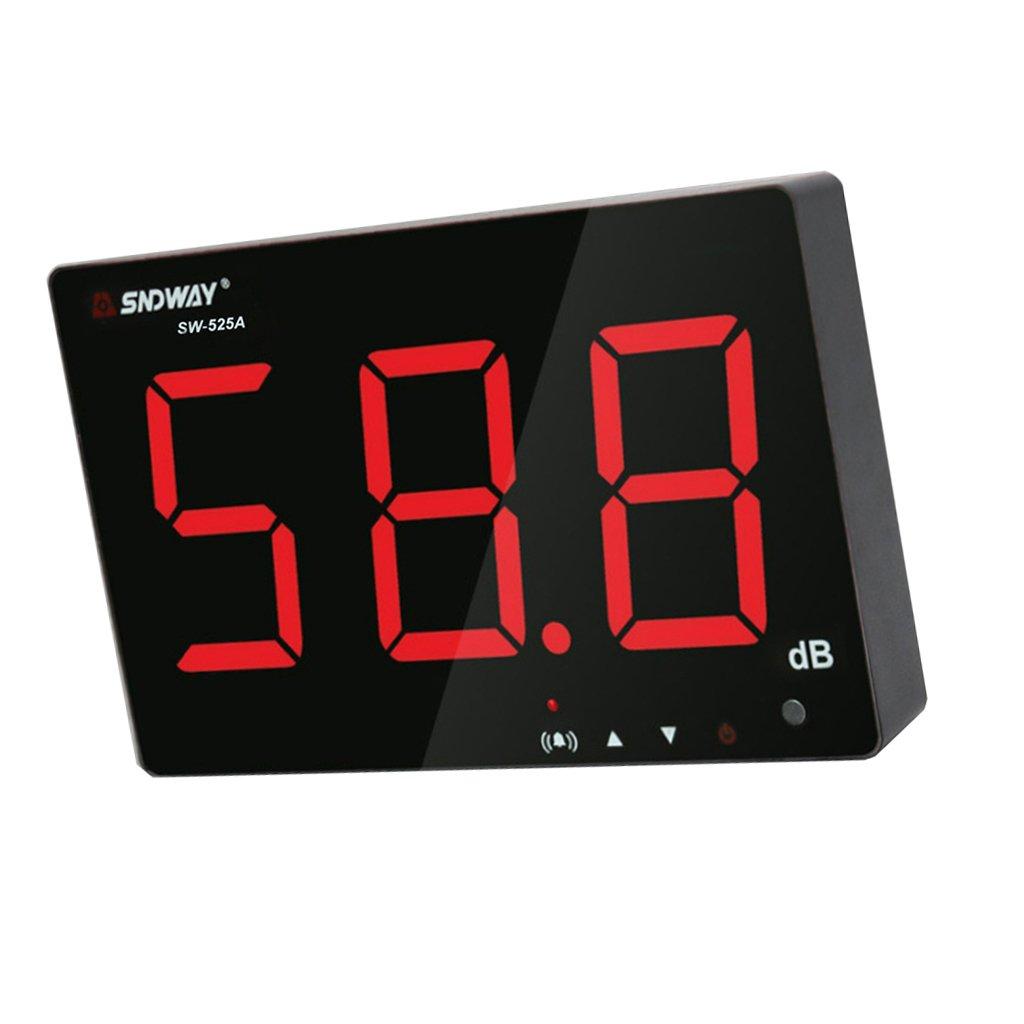 Baoblaze Digital Noise Meter Decibel Meter Tester Range 30-130dB