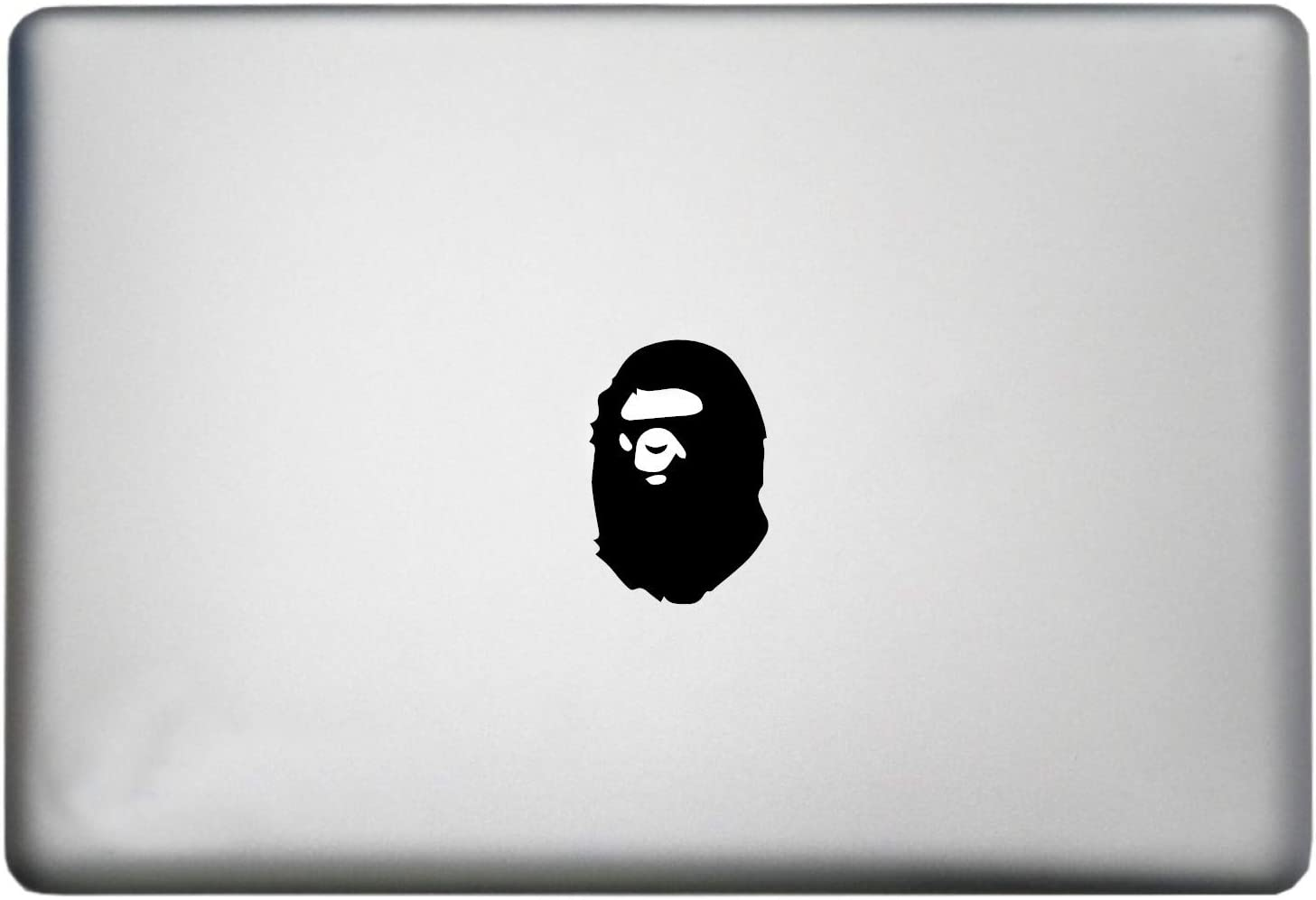 Gorilla Bape Ape Sticker MacBook Decal is a Bathing Ape Woodland Animals Decal. Laptop Sizes 11, 12, 13 and 15 inch. Looks Great with Your Zoo Animals Theme. Many Colors-Black