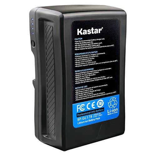 Kastar BP-GL178 Broadcast Replacement V Mount Battery, 14.8V 12000mAh 178Wh for Sony PMW-EX330K PMW-EX330L PMW-580K PMW580L PDW-680 PDW-700 PDW-850 PMW-TD300 HDW-F900R HDW-680 HDW-800P PMW-F55 PMW-F5 by Kastar (Image #7)