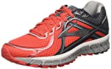 Brooks Men's Adrenaline GTS 16 High Risk Red/Anthracite/Silver Sneaker 10