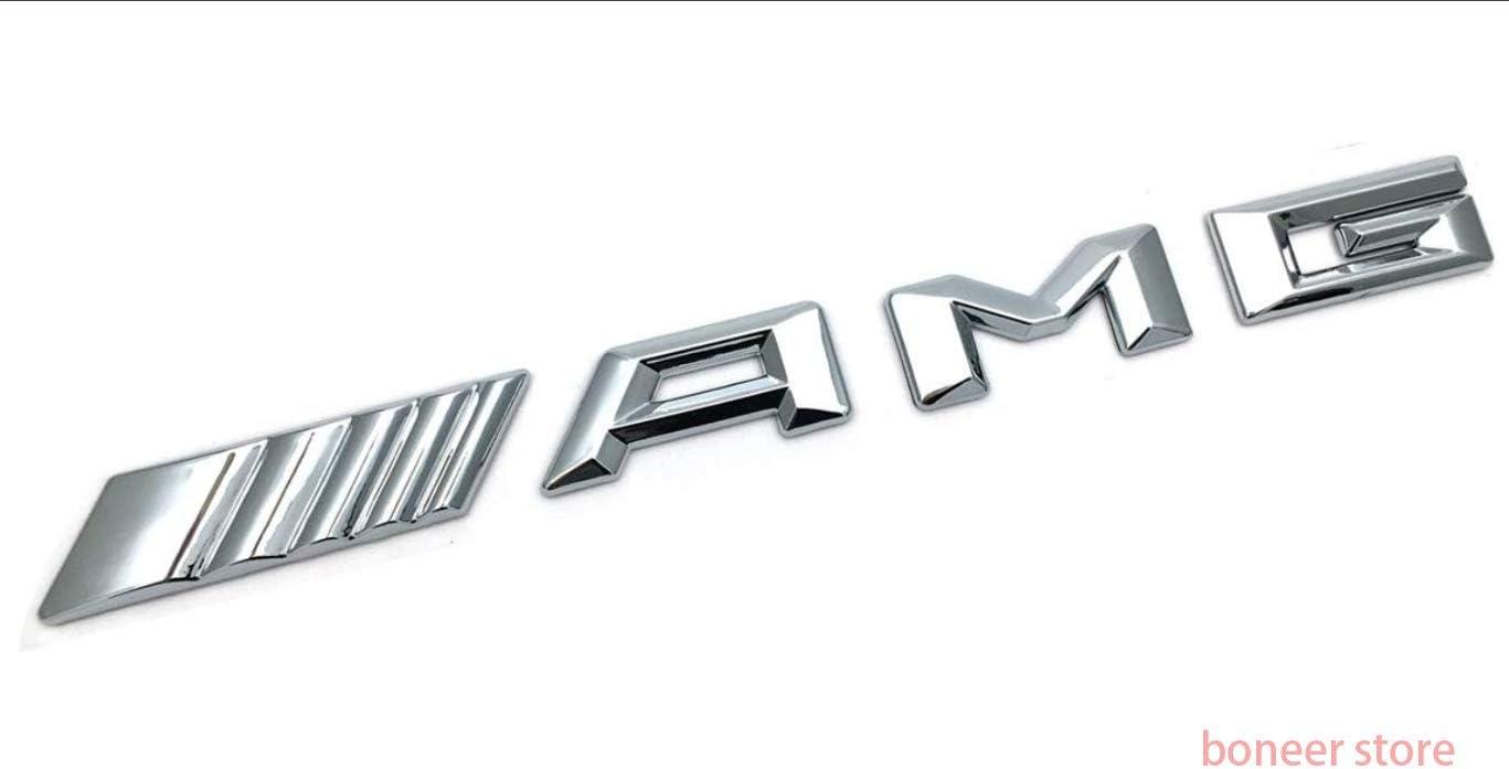 Self Adhesive Boneer br-191128 Mercedes-Benz AMG Emblem 3D ABS AMG Logo Badge Decoration Gift Universal Mercedes-Benz 3D Decorative Badge