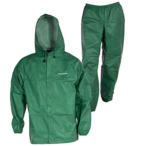 Seam Sealed Rain Pant - EL12104-50-SM Eco-Lite Rain Suit with Bag, Green