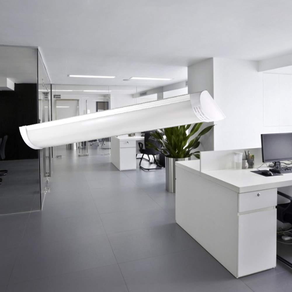 Plafoniera LED 120cm Sararoom 40w LED Tubo Luce Soffitto Slim 4800 Lumen Plafoniera Led Ultraslim Naturale Per Garage Ufficio Magazzino Cucina