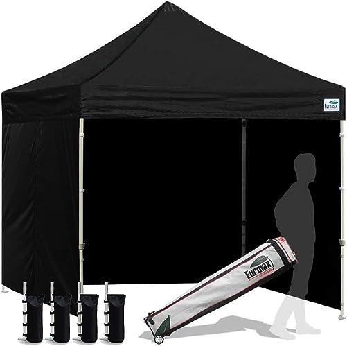 Eurmax 8×8 Feet Ez Pop up Sport Tent