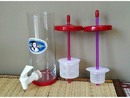 Water & Milk Kefir Fermenter/Separator/Cheese Maker Universal by Kefir Fermenter (Image #2)'
