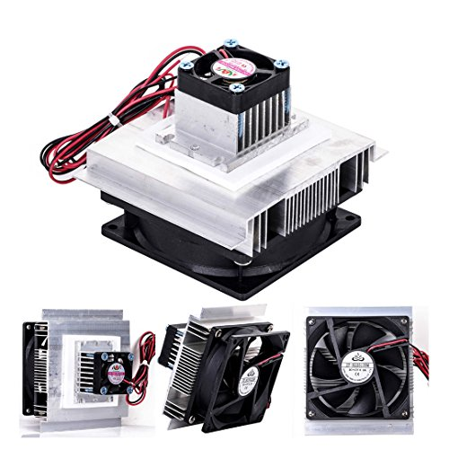 SODIAL TEC-12706 Thermoelectric Peltier Refrigeration Cooling System Kit Cooler Fan DIY by SODIAL (Image #7)