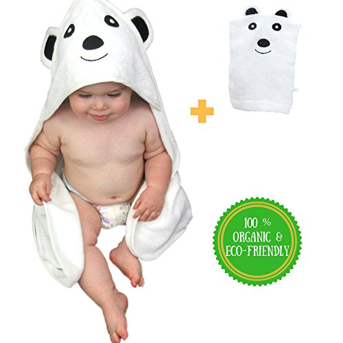 Baby Absorbent Back Towel (Bear) - 3