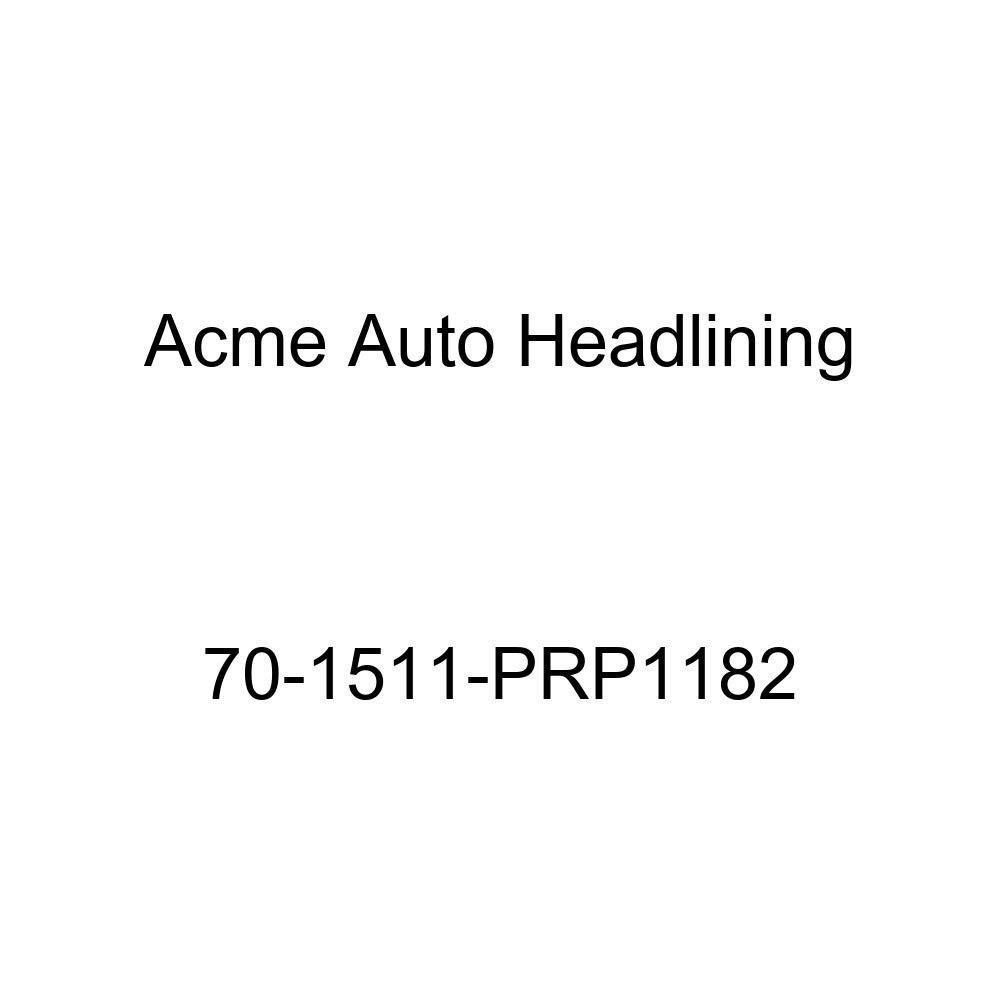 1970 Pontiac Bonneville, Catalina and Executive 2 Door Hardtop 5 Bow Acme Auto Headlining 70-1511-PRP1182 Blue Replacement Headliner