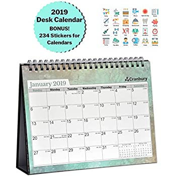 Amazon.com : 3-Year Calendar Planner - 2019-2021 Monthly ...