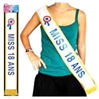 Generique - Echarpe Miss 18 Ans
