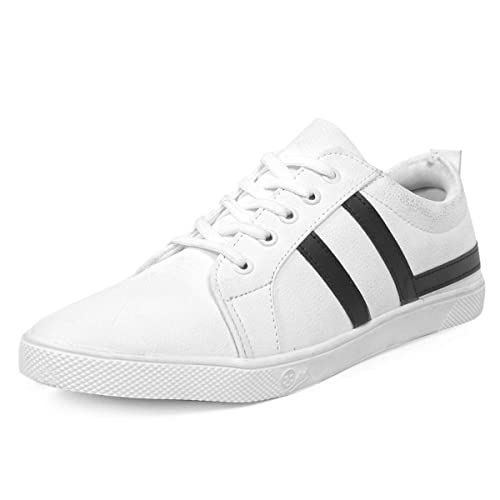 White Casual Sneaker Shoes for Boys