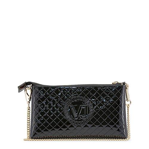 Buzzao Jeans Pochette vernie noire femme Versace xxXHzg