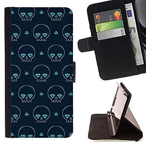 Skate Calle Poker Art Cards- Modelo colorido cuero de la carpeta del tirón del caso cubierta piel Holster Funda protecció Para Apple (4.7 inches!!!) iPhone 6 / 6S