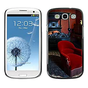 Hot Style Cell Phone PC Hard Case Cover // M00171521 Paris France Victor Hugo Home Bedroom // Samsung Galaxy S3 S III SIII i9300