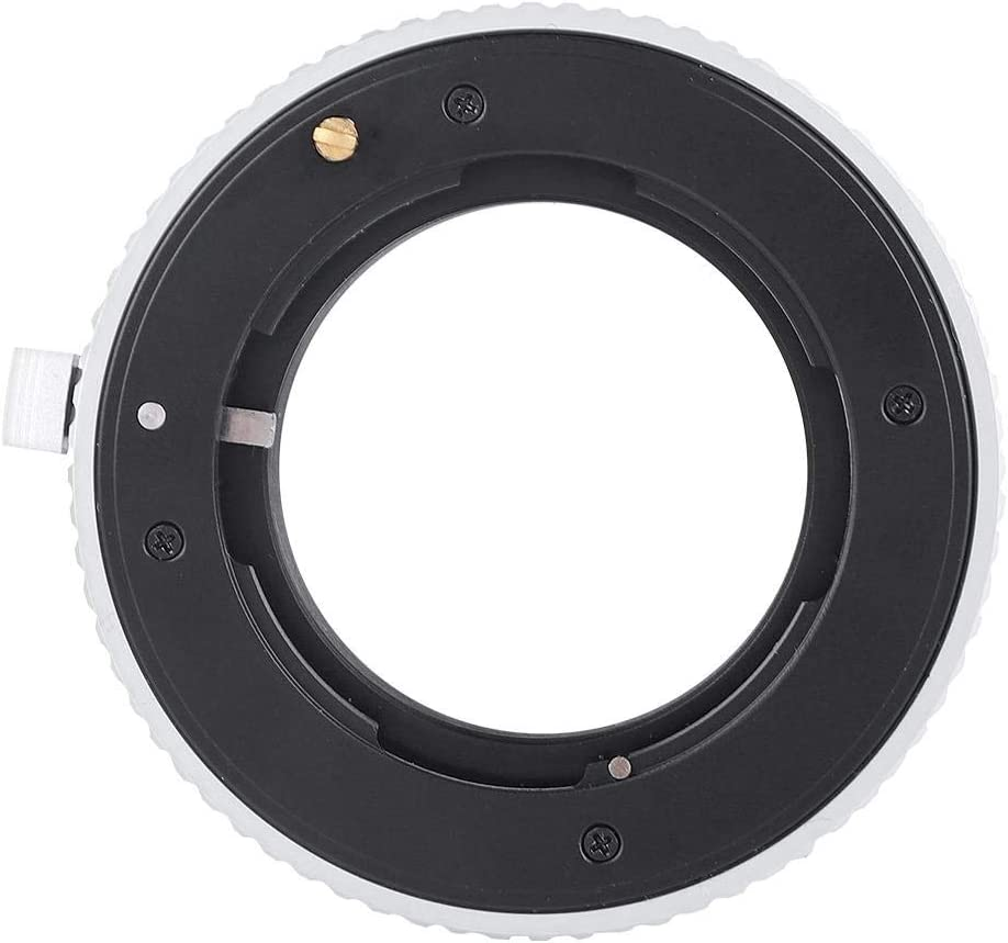 Taidda Lens Adapter Ring Non-Deformation Focusing to Infinite Metal Lens Adapter Ring for G Mount G1 G2 to Fit for Fuji X Mount Mirrorless Camera