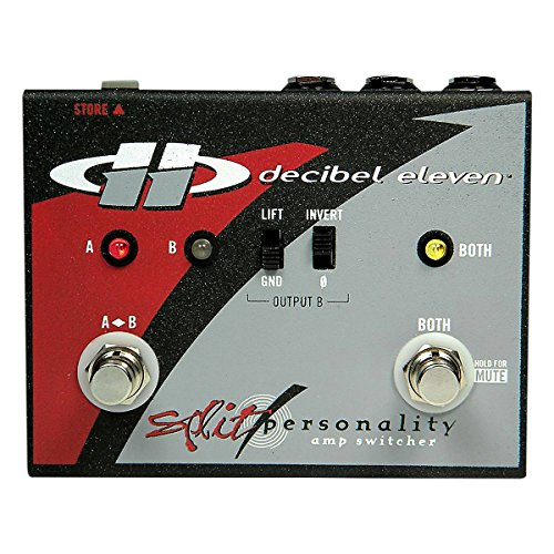 Decibel Eleven Split Personality Amp Switcher by Decibel Eleven