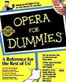 img - for Opera For Dummies by David Pogue (1997-09-04) book / textbook / text book
