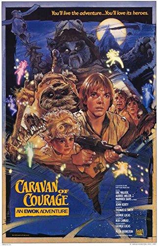 Ewok Adventure - Caravan of Courage Poster Movie B 11x17 Warwick Davis Eric Walker Aubree Miller