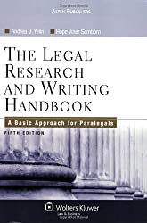 Image of the product Legal Research & Writing that is listed on the catalogue brand of Brand: Aspen Publishers.