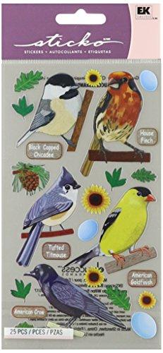 - Sticko EK Success Top US Birds 1 Stickers