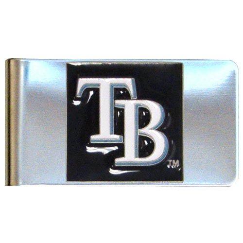 Siskiyou MLB Tampa Bay Rays Large Metal Money Clip ()