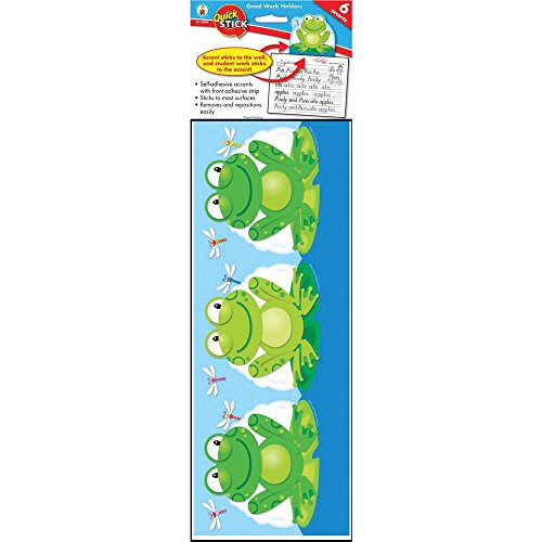 Carson-Dellosa 119008 Frog Work Holder Self-Adhesive 5