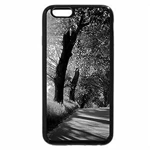 iPhone 6S Plus Case, iPhone 6 Plus Case (Black & White) - Sunbeam road