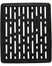 Rubbermaid Evolution Antimicrobial Sink Mat, Black, Small
