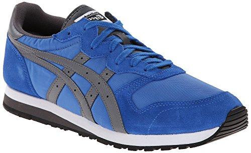 Onitsuka Tiger OC Runner Classic Running Shoe, Strong Blue/Grey, 7.5 M US