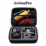 Action Pro Black Medium Size Travel Storage Collection Bag Case for GoPro Hero 2018 7 6 5 3 3+ 4 SJ4000 Xiaomi Yi 4K EKEN Action Camera Accessories