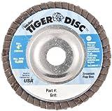 Weiler Tiger Abrasive Flap Disc, Type 29, Round
