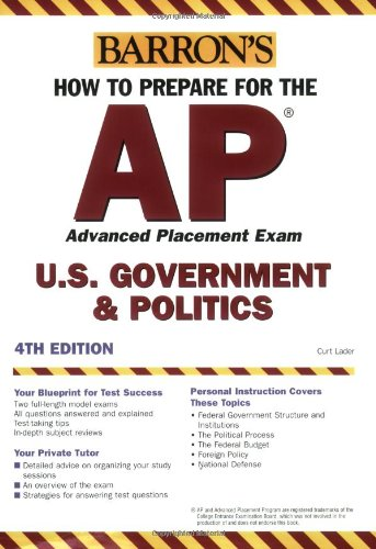 How to Prepare for the AP U.S. Government & Politics (BARRON'S HOW TO PREPARE FOR)