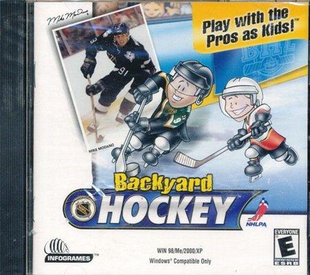 Backyard hockey | humongous entertainment games wiki | fandom.
