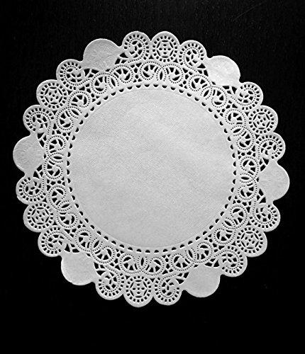 100 Royal Lace White Paper Lace Doilies 6