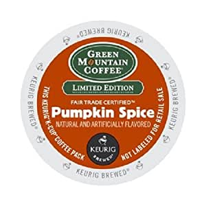 Green Mountain Coffee K-Cup for Keurig Brewers, Pumpkin Spice, 24 Count