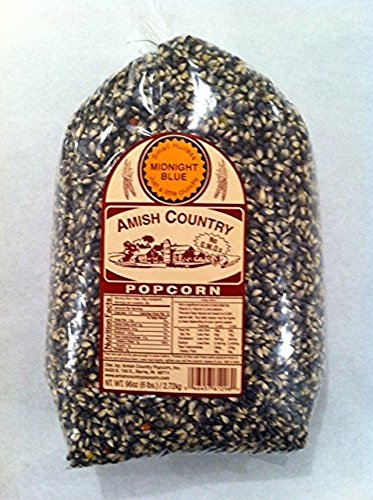 Amish Country Popcorn Midnight Blue Large 6 Pound Bag.