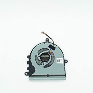 Lee_store CPU Cooling Fan for Dell Inspiron 15 5570 5575 P75F I5575-A214SLV-PUS, p/n: DFS531005MC0T CN-07MCD0 7MCD0, 5V 0.5A