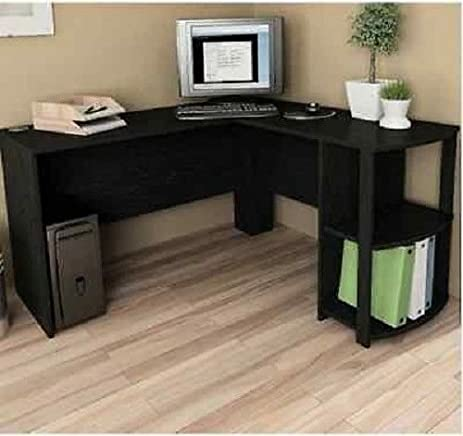 Amazoncom Computer Corner Desk LShaped Workstation Home Office