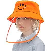LETOUR Protector Facial Niños Gorra, Sombrero con Pantalla
