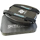 Abdominal, Core & Squat Rolling Exercise Device AND Exercise Pad BUNDLE by SmithShaper for Full Body Muscle Strengthening & Shaping (Legs, Butt, Lower Back, Chest, Arms + More)